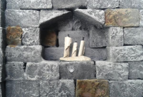 Modularer Dungeon aus Wandsegmenten