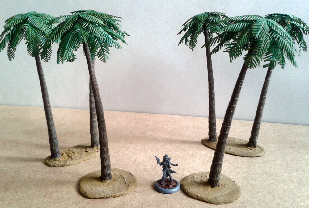 Palm Trees Style B (Pegasus Hobbies) - Die besten Palmen ever (imho)