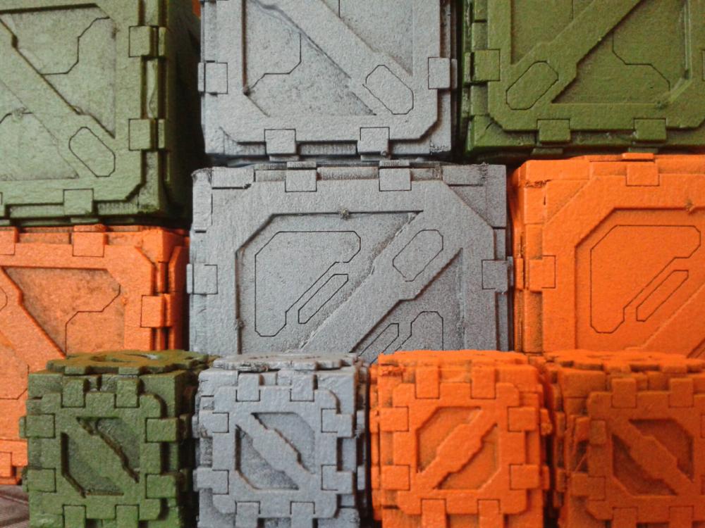 SciFi-Scenics: Small Crates von TTCombat