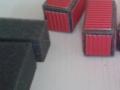 Geklebte Container