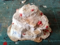 Besandeter Felsplateaurohling