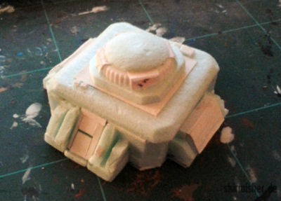 Bunker im Rohbau
