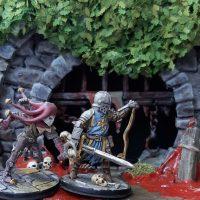 Darkest-Dungeon-Dioramakulissenbau Teil 4: Gras & Details