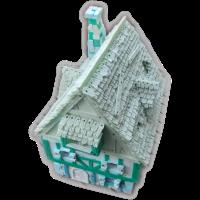 Bau eines Fachwerkhauses