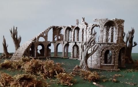 Angeschaut: Asgard Rising - Stone Ruins Modular Set