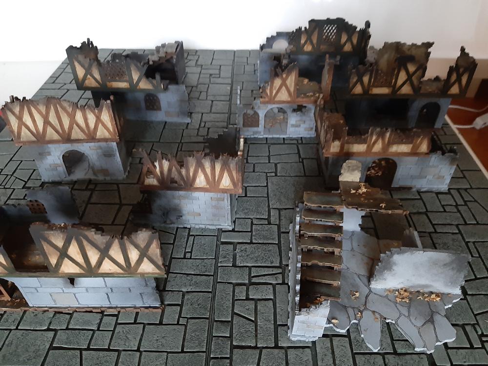 Angeschaut: Frostgrave City Ruins von Kromlech