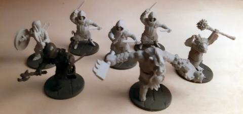 Darkest Dungeon Miniatures - Lieferung III