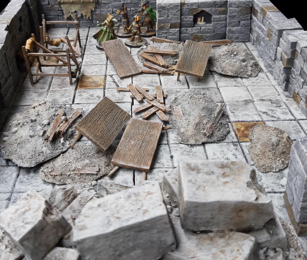 Destroyed Dungeon - Verliese sind oll