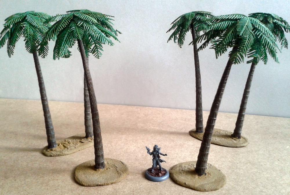 Palm Trees Style B (Pegasus Hobbies) - Die besten Palmen ever (imho)