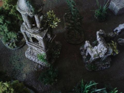 Lost World Terrain aus dem Aquarium