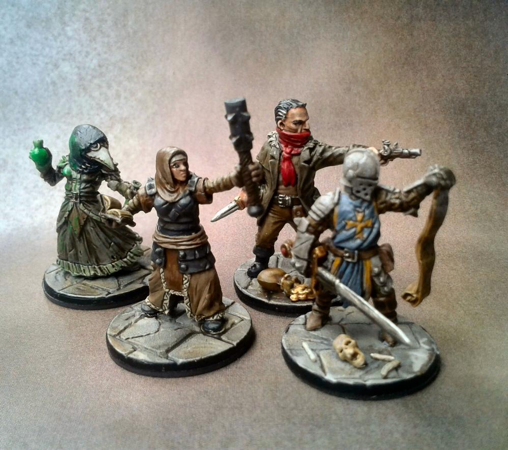 Im Dunkelsten Dungeon - Darkest Dungeon Miniatures