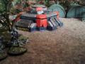 Vorsichtig näherte man sich in zwei Gruppen dem imperialen Bunker