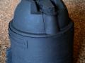 Ein grundierter Geschützturm