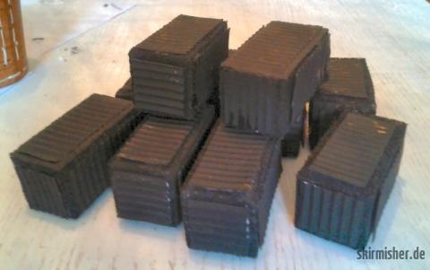 Grundierte Container