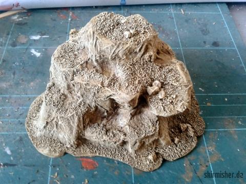 Der 2.x trockengebürsteter Felsplateaurohling